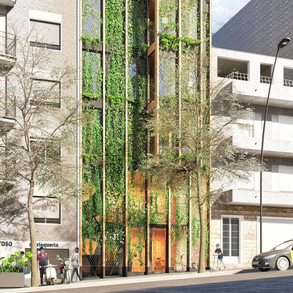 Promoción de viviendas en Bacelona en la Avenida de Montserrat. Exclusivo.